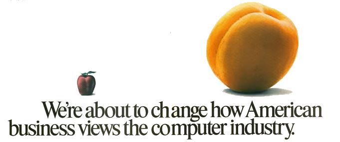 Apricot computer vintage