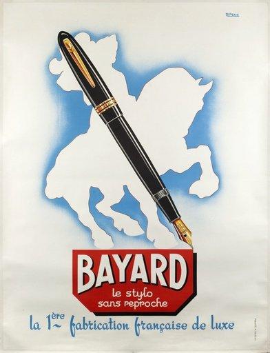 """Bayard le stylo sans reproche la 1ère fabrication française de luxe"""""""