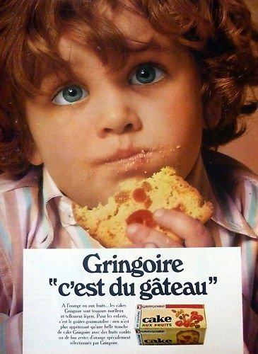 Gringoire cake 1969