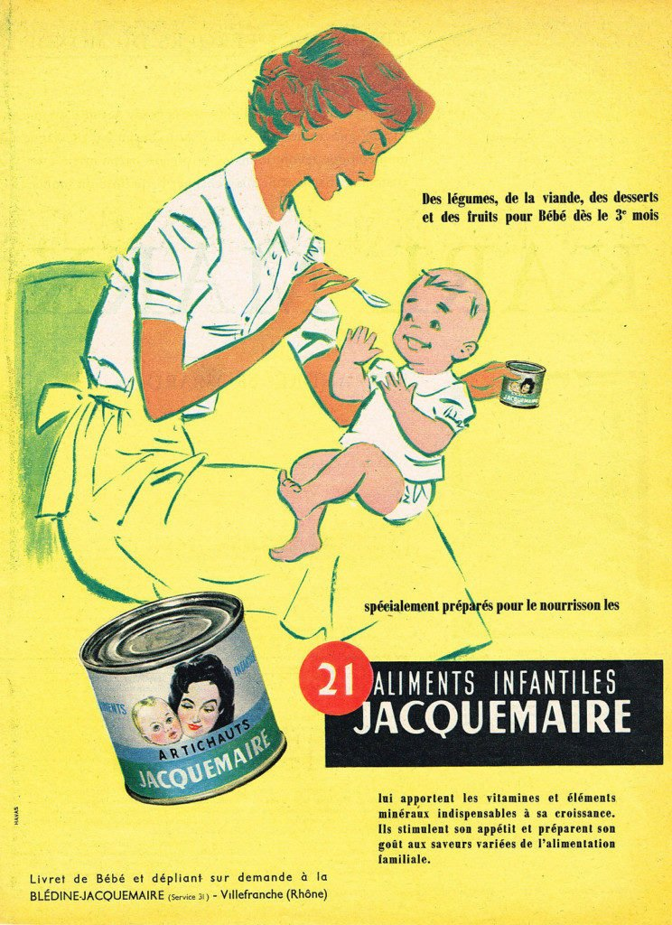 JACQUEMAIRE baby food