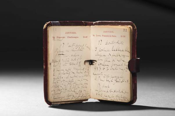 Kirby Beard diary used by Marcel Proust